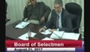 Board of Selectmen 8-31-17