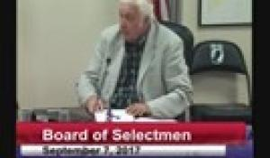 Board of Selectmen 9-7-17