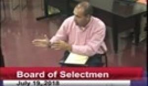 Board of Selectmen 7-19-18