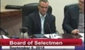 Board of Selectmen 9-6-18