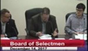 Board of Selectmen 12-14-17