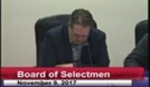 Board of Selectmen 11-9-17