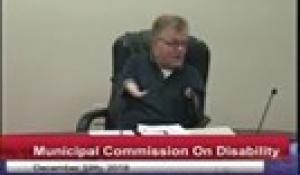 Commission on Disability 12-13-18