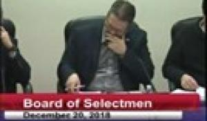 Board of Selectmen 12-20-18