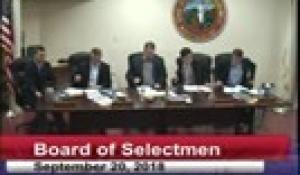 Board of Selectmen 9-20-18