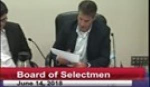 Board of Selectmen 6-14-18