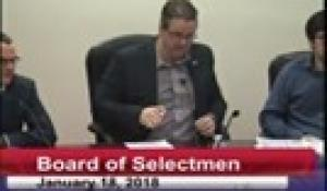 Board of Selectmen 1-18-18