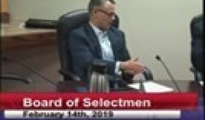 Board of Selectmen 2-14-19