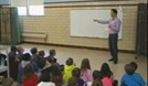 Allen Avenue School: Visit from Meteorologist Chris Lambert 2013