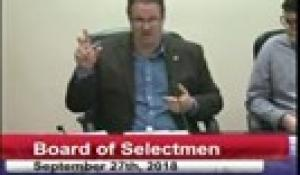 Board of Selectmen 9-27-18