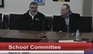 North Attleborough School Committee Meeting: March 6th, 2019