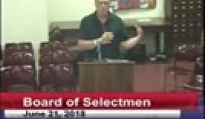 Board of Selectmen 6-21-18