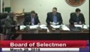 Board of Selectmen 3-29-18
