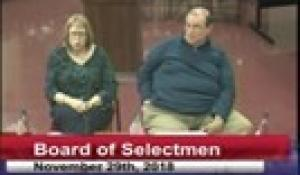Board of Selectmen 11-29-18