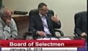 Board of Selectmen 1-25-18