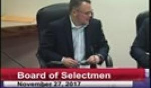 Board of Selectmen 11-27-17