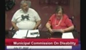 Commission on Disability 7-27-17