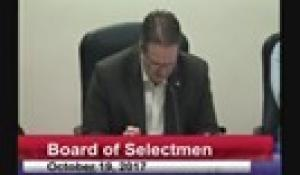 Board of Selectmen 10-19-17