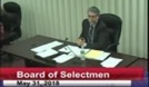Board of Selectmen 5-31-18