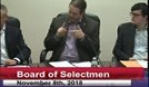 Board of Selectmen 11-8-18