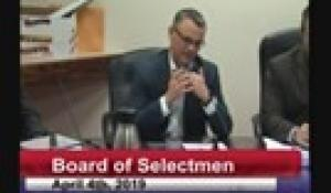 Board of Selectmen 4-4-19
